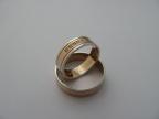 Snubní prsteny vzor snub50-b/č/b