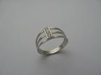 Šperky s brilianty a jinými drahokamy vzor prsten s bril-13