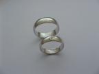 Snubní prsteny vzor snub-1-40-3kam