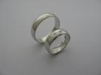 Snubní prsteny vzor snub1-šikmý žl