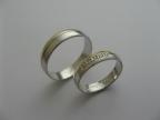 Snubní prsteny vzor snub-41-1ž-b