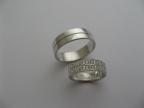 Snubní prsteny vzor snub-41atyp