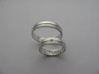 Snubní prsteny vzor snub-41b-fr