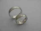 Snubní prsteny vzor snub-48-ž