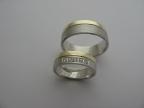 Snubní prsteny vzor snub-49ž-b