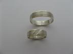 Snubní prsteny vzor snub-53ž-b
