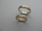 Snubní prsteny vzor snub-atyp56b-č