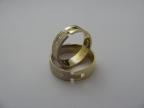 Snubní prsteny vzor snub-atyp1