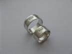 Snubní prsteny vzor snub-atyp11-3k