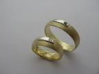 Snubní prsteny vzor snub-atyp14