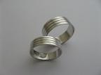 Snubní prsteny vzor snub-atyp18