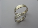 Snubní prsteny vzor snub-atyp22