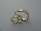 Snubní prsteny vzor snub-atyp8