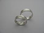Snubní prsteny vzor snub-vlnka