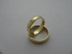 Snubní prsteny vzor snub1-ž+kam.