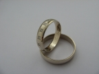 Snubní prsteny vzor snub1-b+5kam