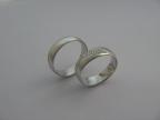 Snubní prsteny vzor snub1-vlnka