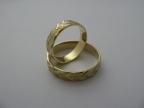 Snubní prsteny vzor snub16-ž
