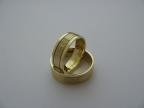 Snubní prsteny vzor snub27-frézka