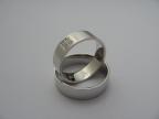 Snubní prsteny vzor snub27hl-b