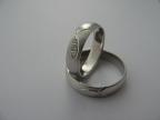 Snubní prsteny vzor snub29frez-b
