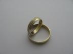 Snubní prsteny vzor snub40-48-ž-b