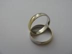 Snubní prsteny vzor snub40-b/ž