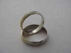 Snubní prsteny vzor snub40b/ž-mat