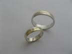 Snubní prsteny vzor snub41-1ž-b