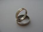 Snubní prsteny vzor snub41-č/b