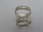 Snubní prsteny vzor snub42-28kam