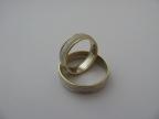 Snubní prsteny vzor snub42-mat