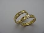 Snubní prsteny vzor snub45-b