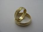 Snubní prsteny vzor snub47-ž
