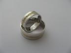 Snubní prsteny vzor snub48-b/ž/b