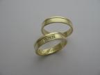 Snubní prsteny vzor snub49ž