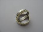 Snubní prsteny vzor snub49-ž-b