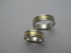Snubní prsteny vzor snub50b-ž-b-fr