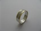 Snubní prsteny vzor snub50ž-b-ž