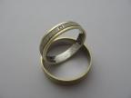 Snubní prsteny vzor snub50-ž-b-ž-2