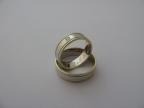 Snubní prsteny vzor snub50-ž/b/ž