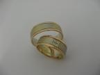 Snubní prsteny vzor snub50-27čbč