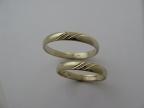 Snubní prsteny vzor snub51atyp