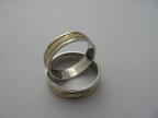Snubní prsteny vzor snub51-b/ž/b