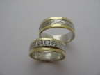 Snubní prsteny vzor snub52-ž-b-ž