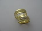 Snubní prsteny vzor snub52