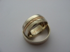 Snubní prsteny vzor snub55b-č-b