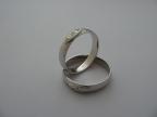 Snubní prsteny vzor snub8/2-b