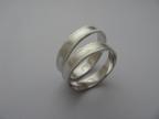 Snubní prsteny vzor snub8/4-b