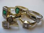 Šperky s brilianty a jinými drahokamy